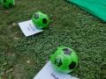16.07.2015, Ljubljana. Opozorilni shod ob prvi obletnici uboja štirih dečkov v Gazi, ki so na plaži z vrstniki igrali nogomet. Bili so stari med 9 in 11 let.