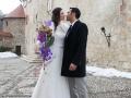 Poroka Anastazije in Davida Mavri