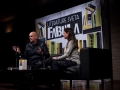 27. 02. 2016 Klub Cankarjevega doma Ljubljana. Otvoritev festivala Fabula. Matthias Göritz in Jela Krečič