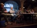 13.07.2015, Ljubljana, Pritličje. Okrogla miza: Kaj pomeni grški OXI/NE? Boštjan Remic, Borut Mekina,Dragan Nikčević, Rok Kogej, dr. Bogomir Kovač