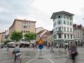 13.07.2015 Ljubljana Prešernov trg, Inštalacija umetnega dežja