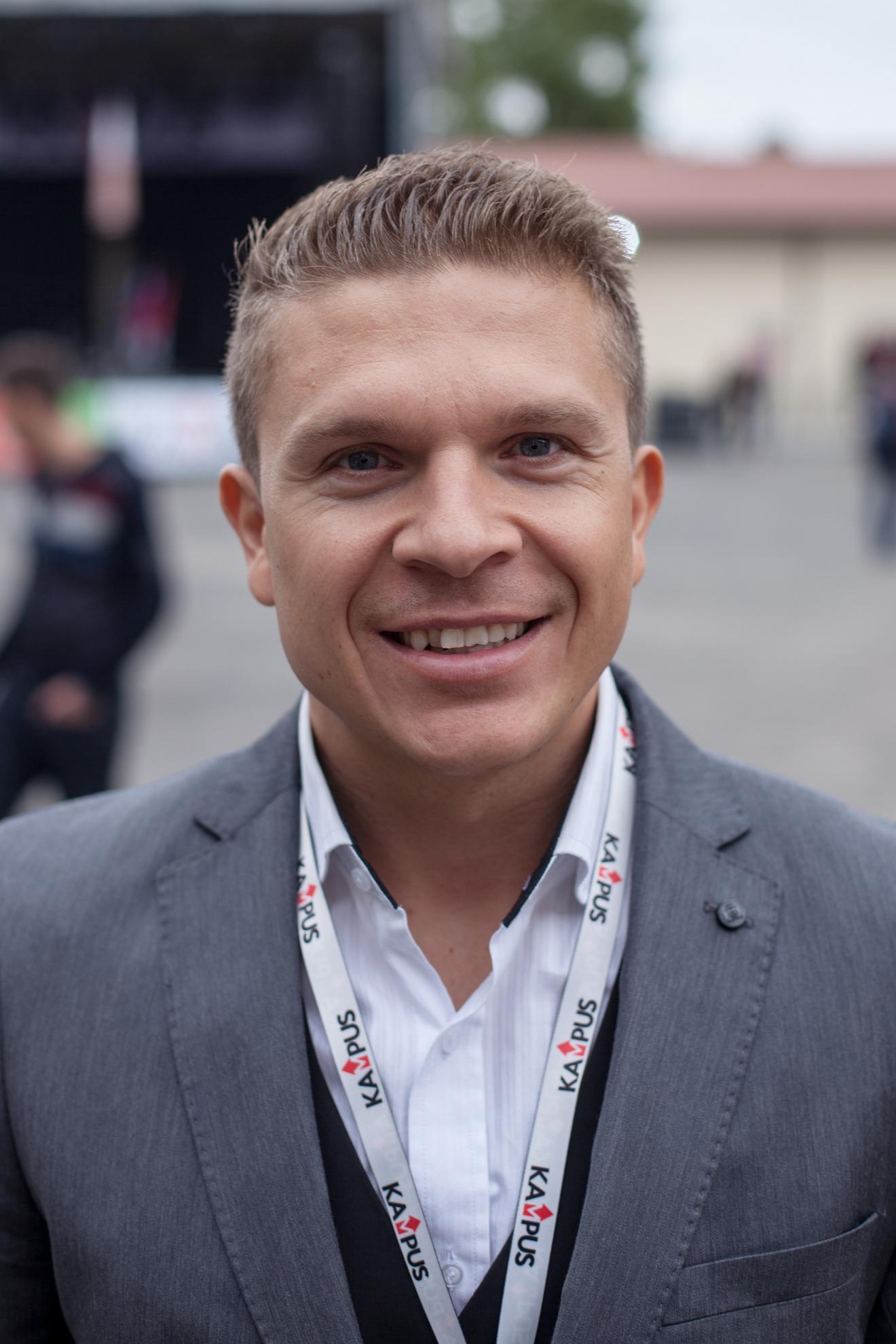 Bojan Kurež - Direktor študentskega kampusa