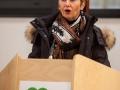 Ministrica Milojka Kolar Celarc na otvoritvi Urgentnega centra na Jesenicah.