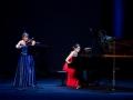 Ljubljana, Cankarjev dom, 07. 02. 2015, Podelitev Prešernovih nagrad in nagrad Prešernovega sklada. Nadežda Tokareva in Natalija Morozova