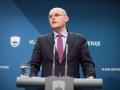 17. februar 2016, Tiskovna konferenca. Ministrer Goran Klemenčič