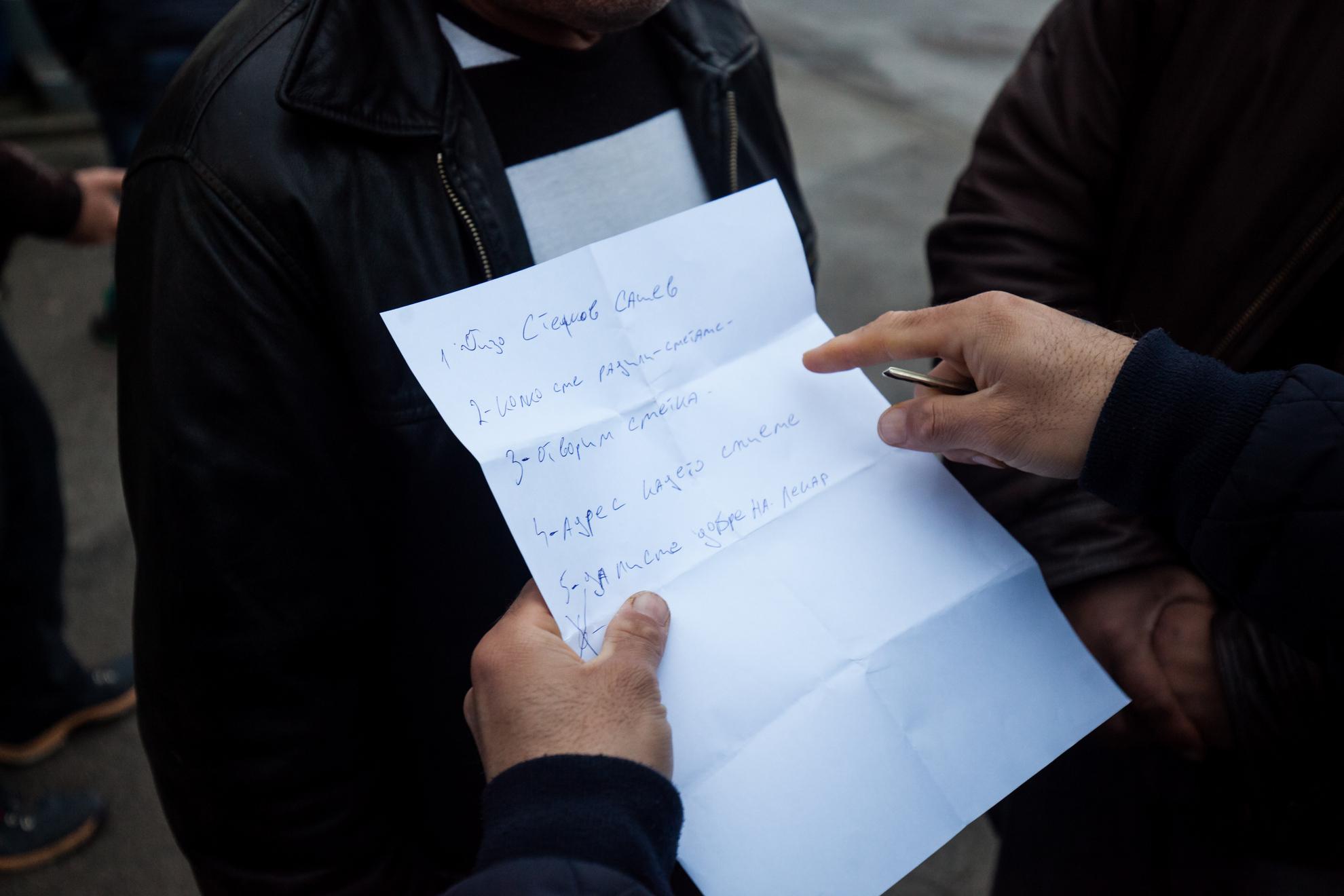 21. 03. 2016 Lož. Migrantski delavci v lesarstvu iz podružnice Marof trade naj že dva meseca ne bi dobili plače.