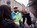 22. 03. 2016 Ljubljana, Kongresni trg. Sprejem slovensih zimskih športnikov. Filip Flisar.