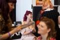 16. 04. 2016 Ljubljana, Gospodarsko razstavišče. Med 15. in 17. aprilom je v Ljubljani potekala 8. tradicionalna tattoo konvencija. V spremljevalnem programu je bilo tudi pinup tekmovanje, urejanje pričeske in make-up.