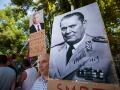 30.07.2016 Shod v podporo Vladimirja Putina in njegove politike kot odgovor na protestnike pred rusko ambasado.
