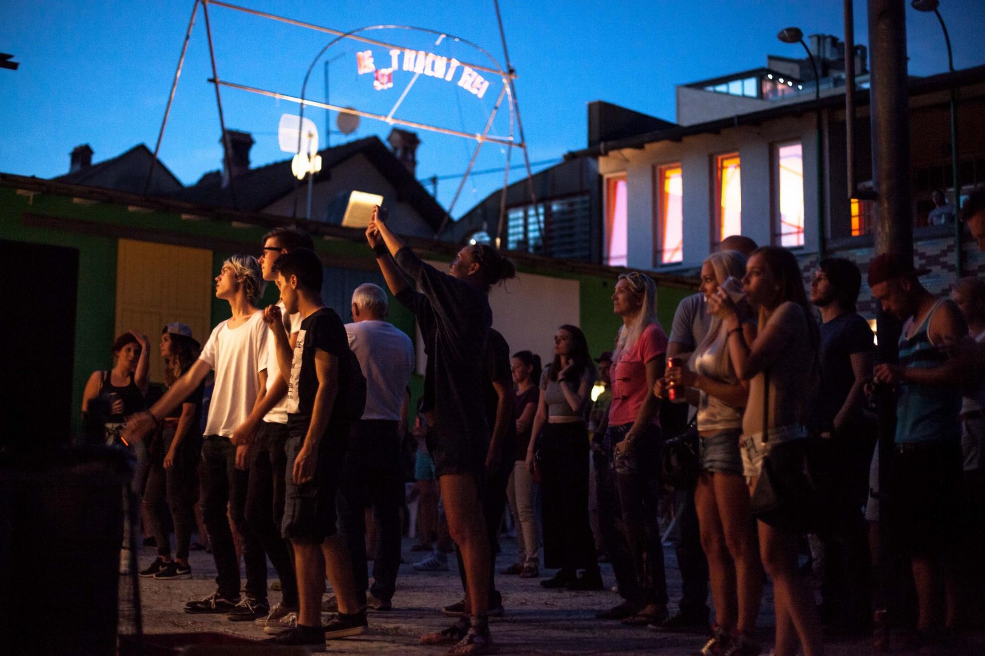 03. 08. 2016 Ljubljana, Trnfest. Publika