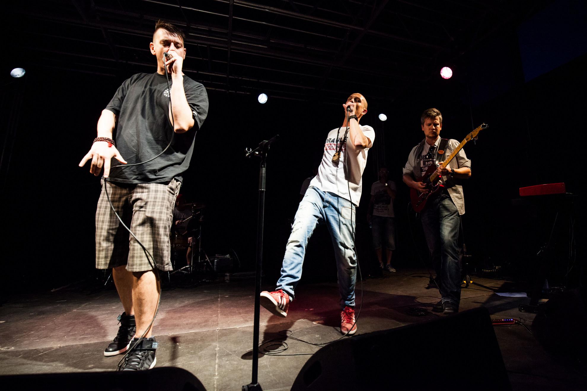 03. 08. 2016 Ljubljana, Trnfest. Rok trkaj je kot gost nastopil z rapperjem Nipke in spremljevalno skupino The Nipples.