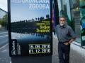 15.09.2016 Ljubljana, Galerija AS - Adriatic Slovenija. Otvoritev razstave Nedokončana zgodba, katere avtor je Srdjan Živulović. Srdjan Živulović
