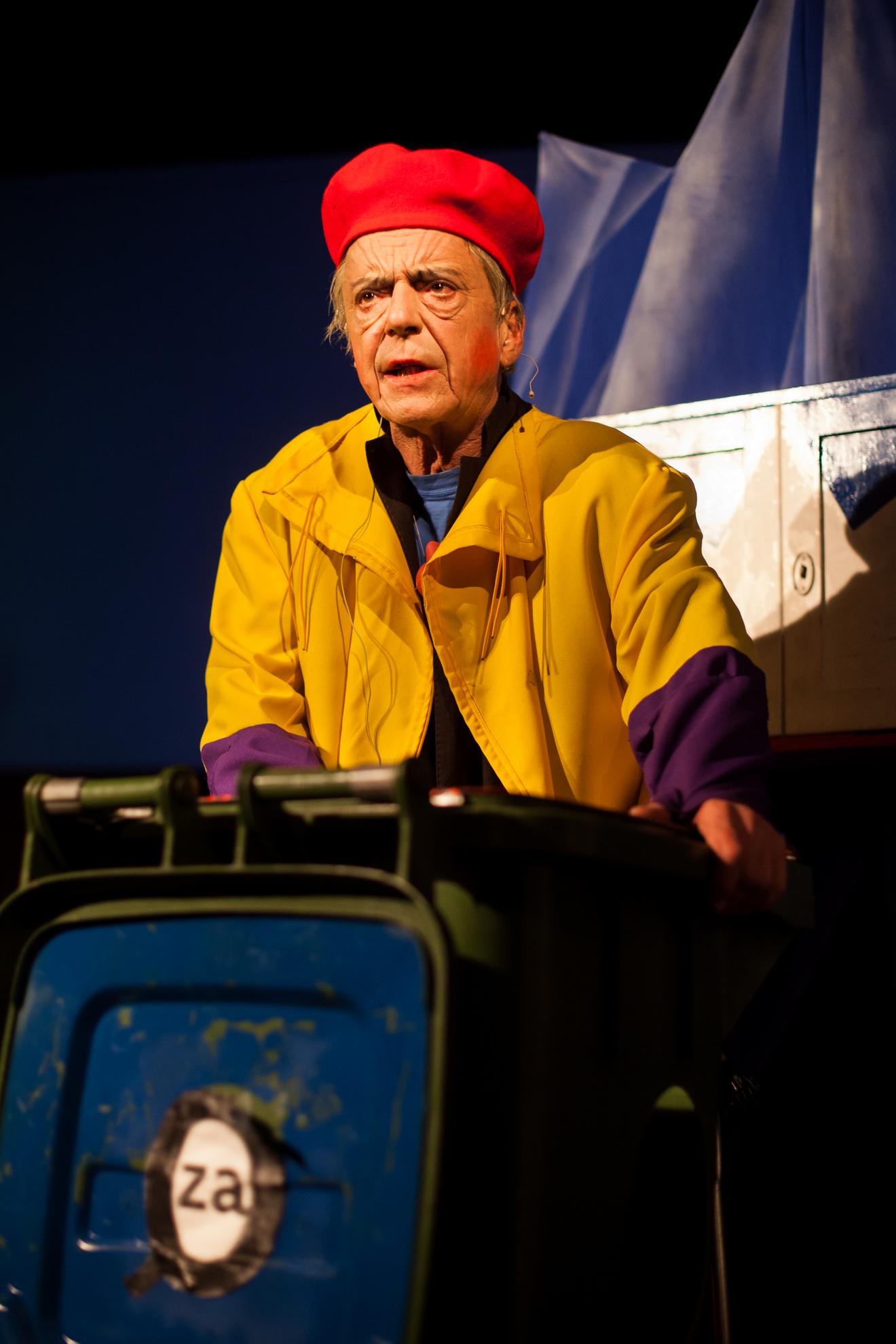 10.10.2016 Ljubljana, Kud France Prešeren. Andrej Rozman Roza s predstavo Odmaševaje ob 96. obletnici Koroškega Plebiscita