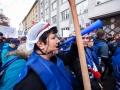 03.11.2016 Ljubljana, Gregorčičeva. Demostracije sindikata skupine J