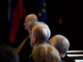14.11.2016 Ljubljana, Vrhovno sodišče. Slavnostna občna seja vrhovnega sodišča ob 25. obletnici osamosvojitve Slovenije, na kateri sta bila govornika predsednik države Borut Pahor in predsednik vrhovnega sodišča Branko Masleša, udeležil se jo je tudi predsednik DZ Milan Brglez. Modre glave slovenskega sodstva.