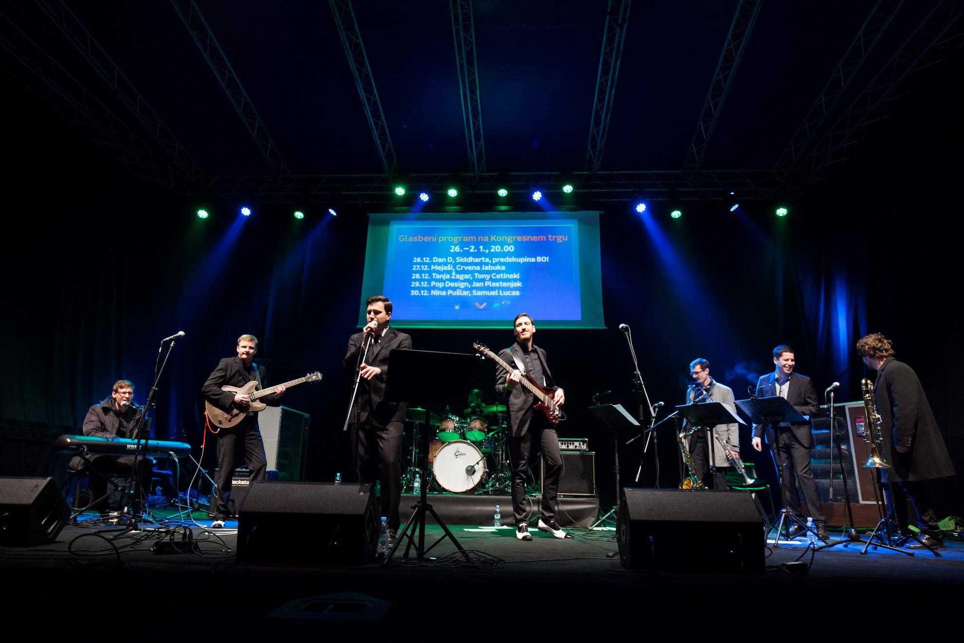 18.12.2016 Breg, Ljubljana. Koncert skupine Flafjacks