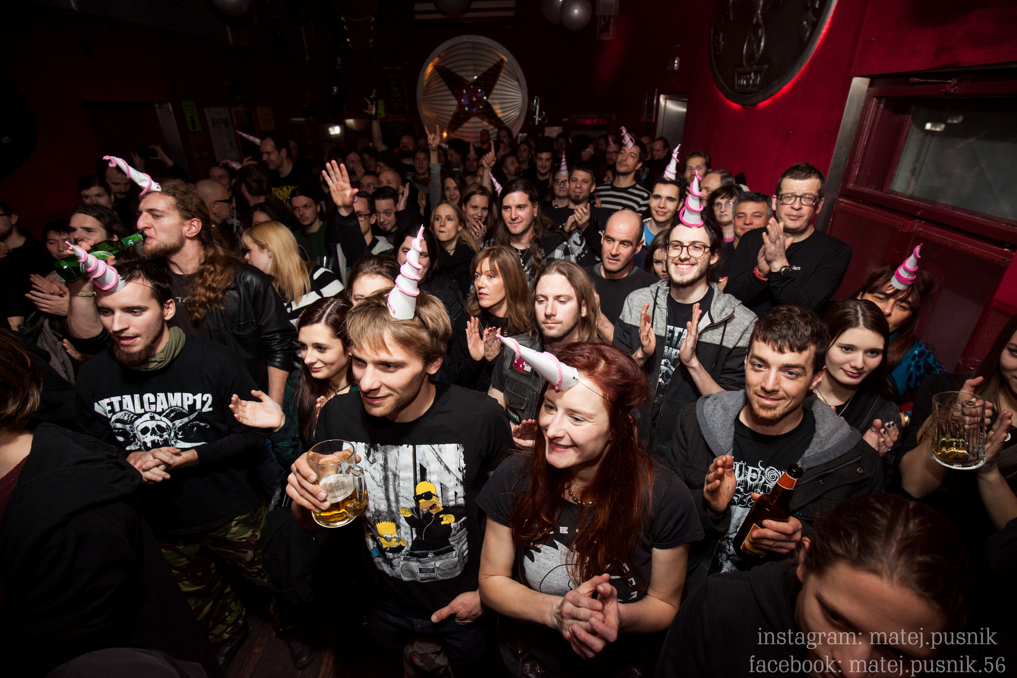 29.12.2016 Ljubljana, Orto bar. Prednovoletni koncert skupine Space unicorn on fire in predstavitev plošče.